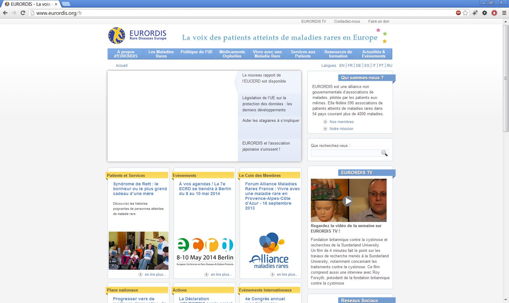 www.eurordis.org
