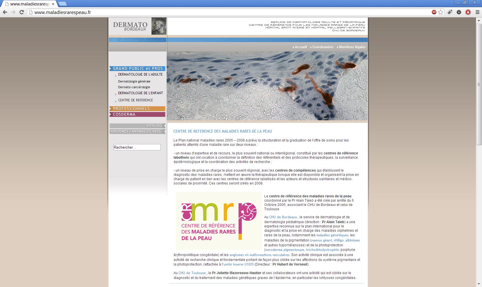 www.maladiesrarespeau.fr