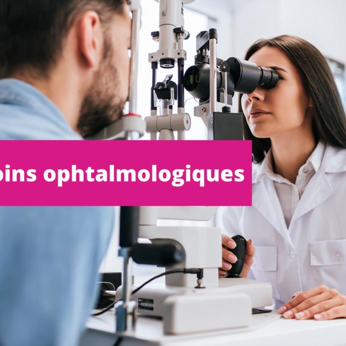 L'EB et les soins ophtalmologiques