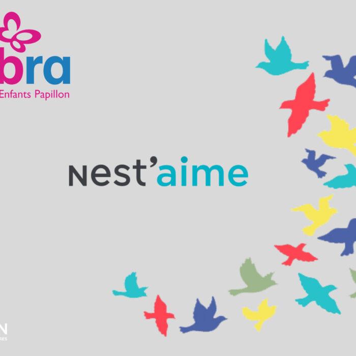 Le réseau immobilier Nestenn se mobilise pour les enfants papillon